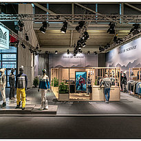 Ispo-2019-Messe-München-Messestand-Beleuchtung